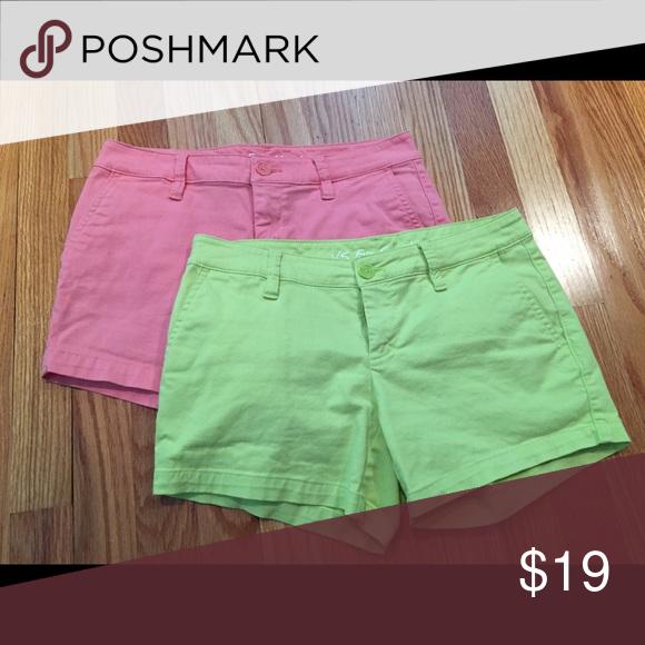 Victorias Secret Eva shorts. Price reduced!! ❣️ Victorias Secret Eva Shorts. Available in lime and coral Victoria's Secret Shorts