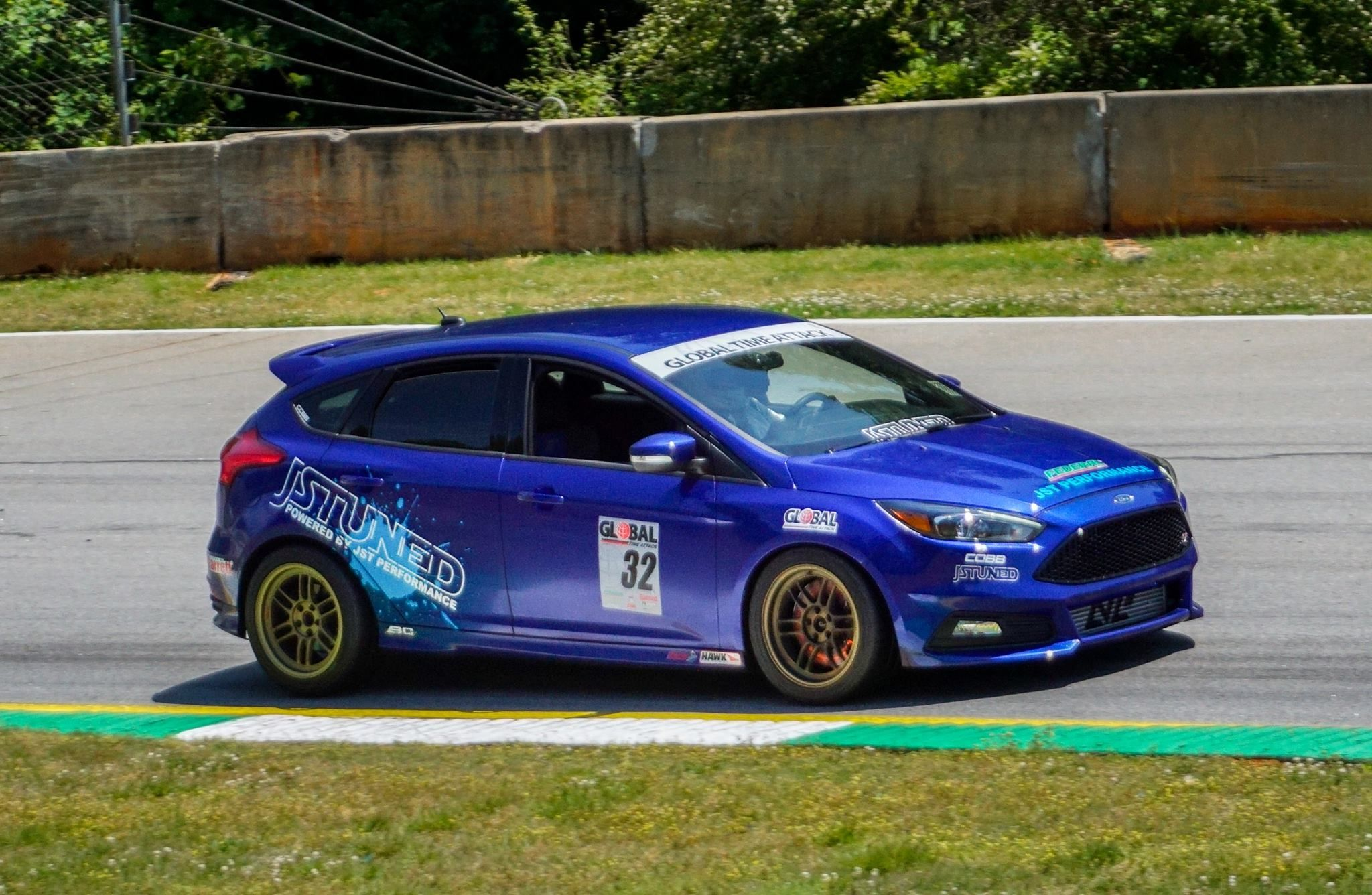 Hey guys as a few of you know i did our first global time attack event this past weekend at road atlanta in our jst performance 2015 focus st shop