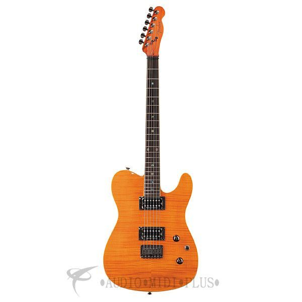 Fender Special Edition Custom Telecaster FMT HH Rosewood Fingerboard Electric Guitar Amber - 262000520