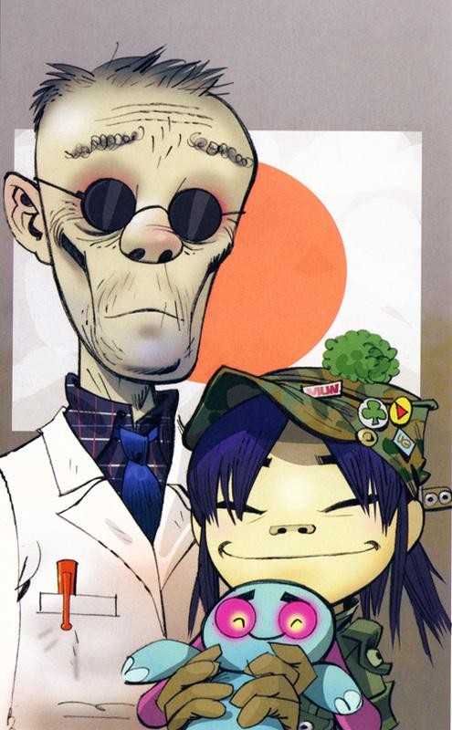 Noodle - Gorillaz Wiki