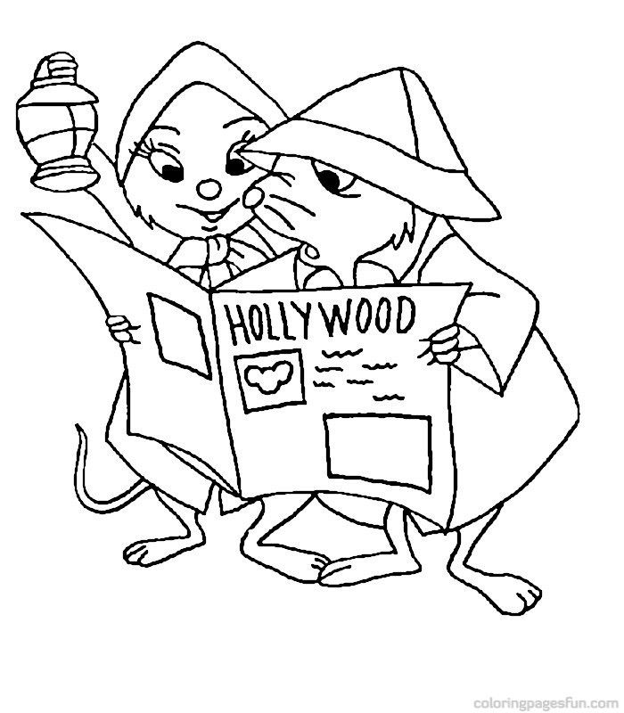 The Rescuers Coloring Page Coloring Books Disney Coloring Pages Printables Cool Coloring Pages