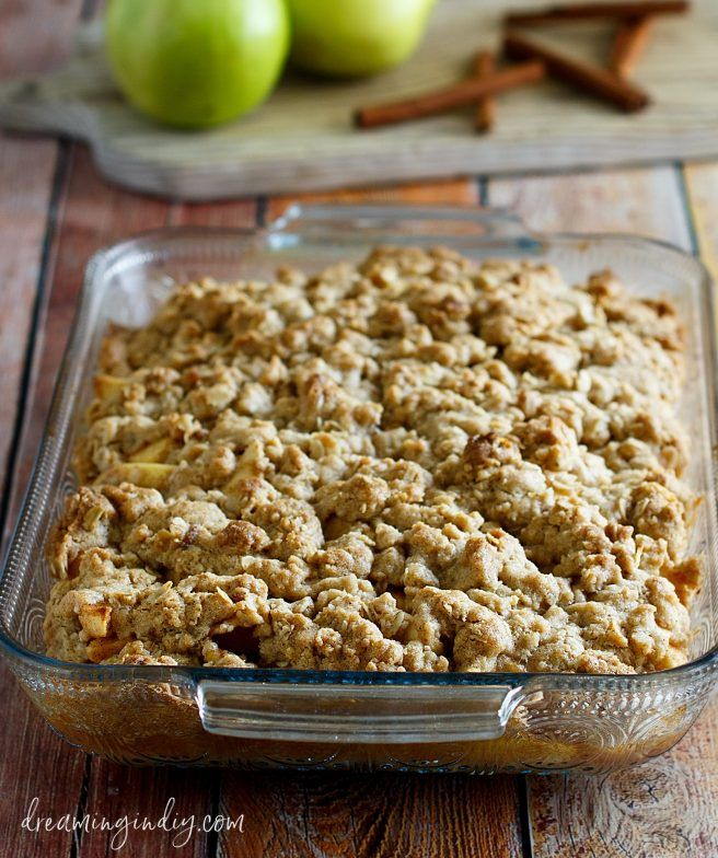 The Best And Easiest Classic Apple Crisp Dessert