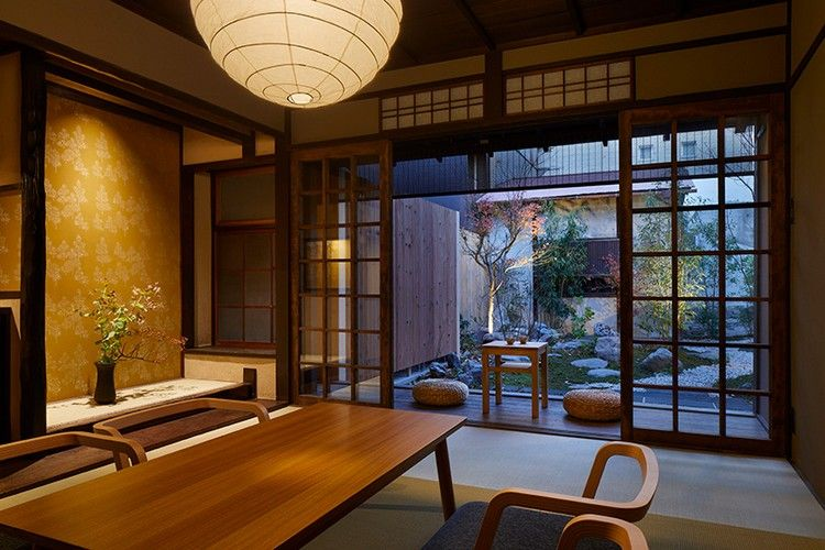 einrichtung im japanischen wohnstil wohnzimmer tradition