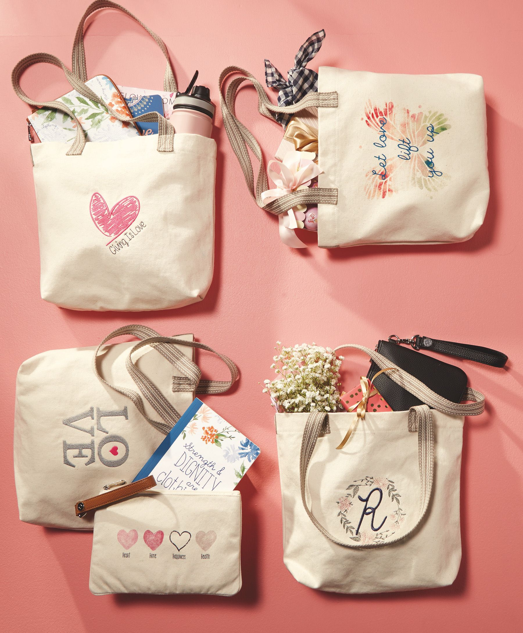 50cd1cc5157a Statement Canvas Mini Shopper - Natural in 2019 | Thirty-One 2018 ...
