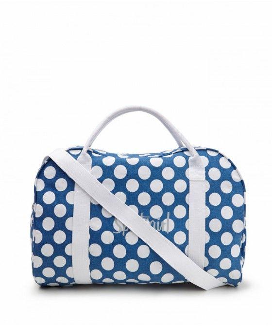 BLUE SPOT DUFFLE BAGS - Rewind - Accessories  39.95 Sportsgirl ... cea5b6bb9b344