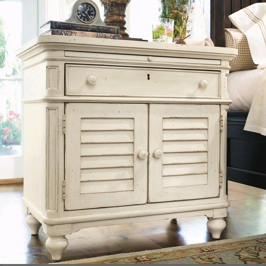 Night stand Paula deen furniture, Drawer nightstand