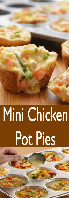 Mini Chicken Pot Pies images