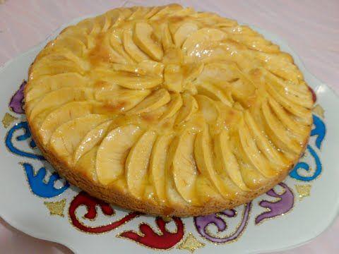 أسهل طريقة لتحضير احلى طرطة تفاح Youtube Apple Pie Food Apple