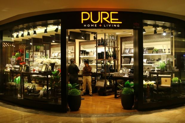 Pure Home + Living, Is A Contemporary Store With A Wide Range Of Products  For