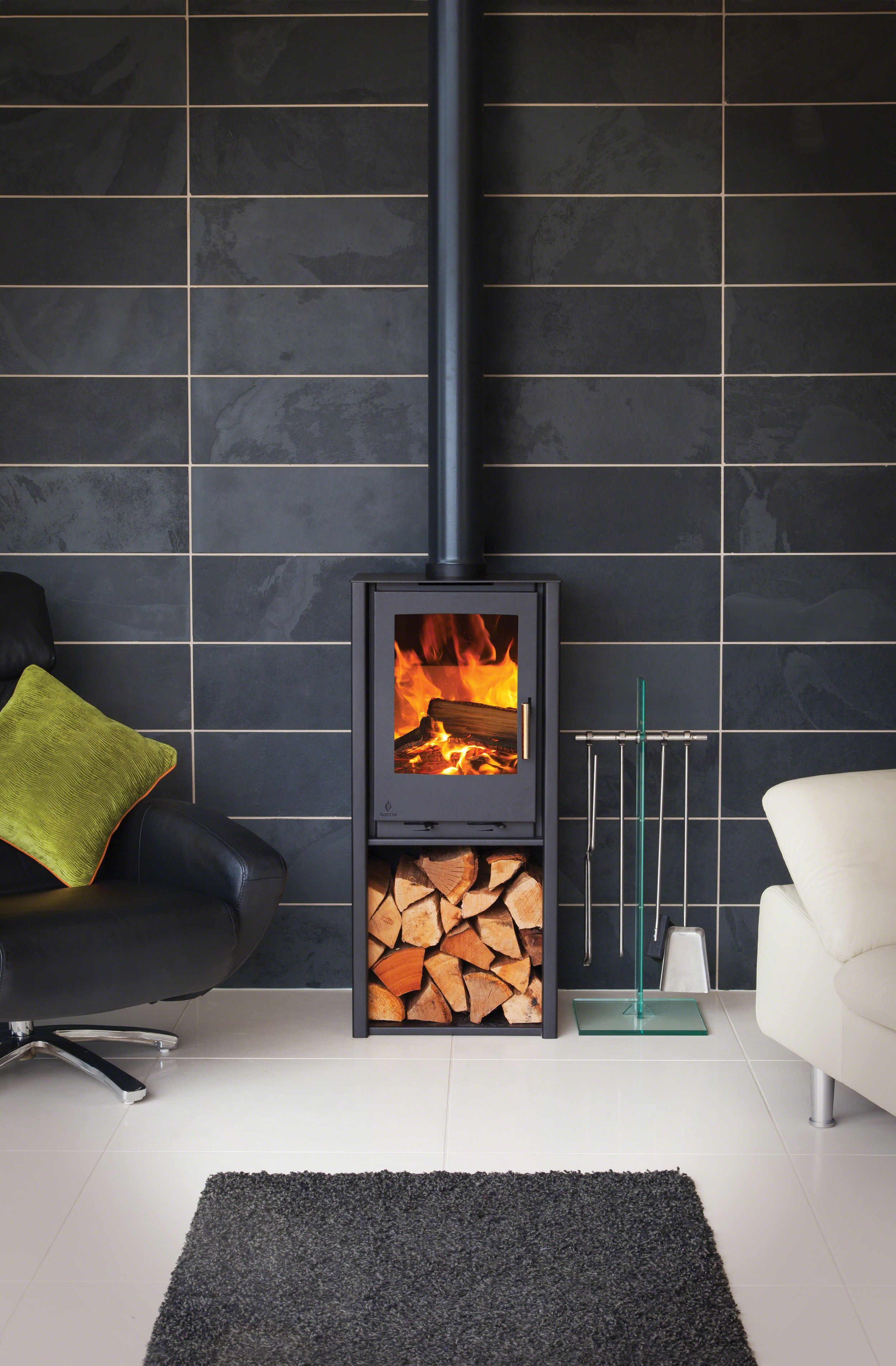 I600 Slimline Freestanding Low Freestanding Freestandingfireplacewoodburninglogburner I6 Freestanding Fireplace Wood Burning Stoves Uk Wood Burning Stove