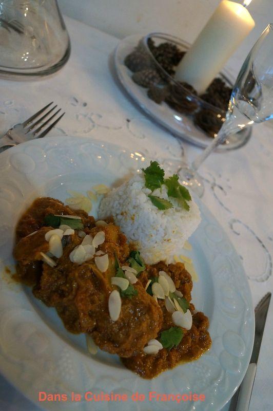 Poulet Khorma (Khorma Chicken)
