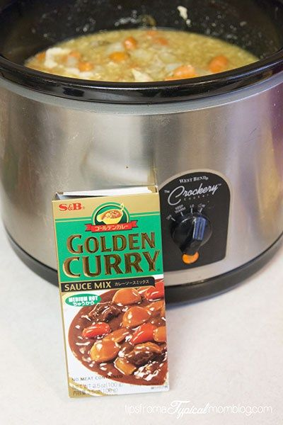 Crock Pot Golden Curry Golden Curry Beef Curry Recipe Crock Pot Curry