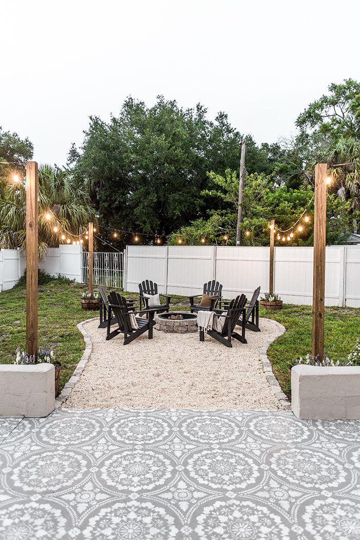 Backyard Makeover Reveal: Riverside Retreat #backyardmakeover