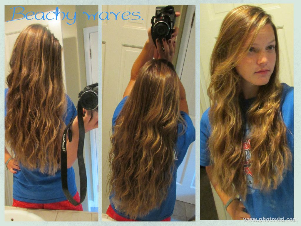 when hair is towel dried/damp, apply mousse, then put the hair