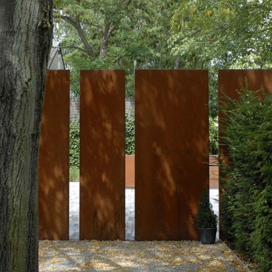 Buy Corten Steel Walls Landscape Features The Pot Company Brise Vue Jardin Jardins Acier Corten