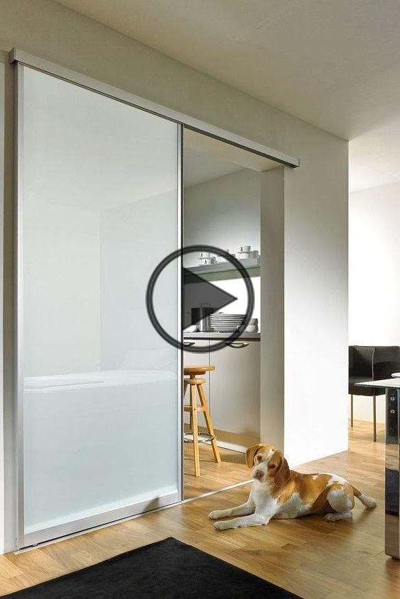 Modern glass door to slide with frosted glass. Glass inner door | Glass door Kitchen | Glass door Hallway | Glass door living room | Sliding glass door | sliding | sliding | Glass interior doors | Glass door frame without glass door # # # sliding door glass sliding door #loft #schlafzimmer #einrichtung #einrichtungsideen # kitchen #interior #home #bedroom #glasdoor #kitchen #interiordesign #livingroomideas
