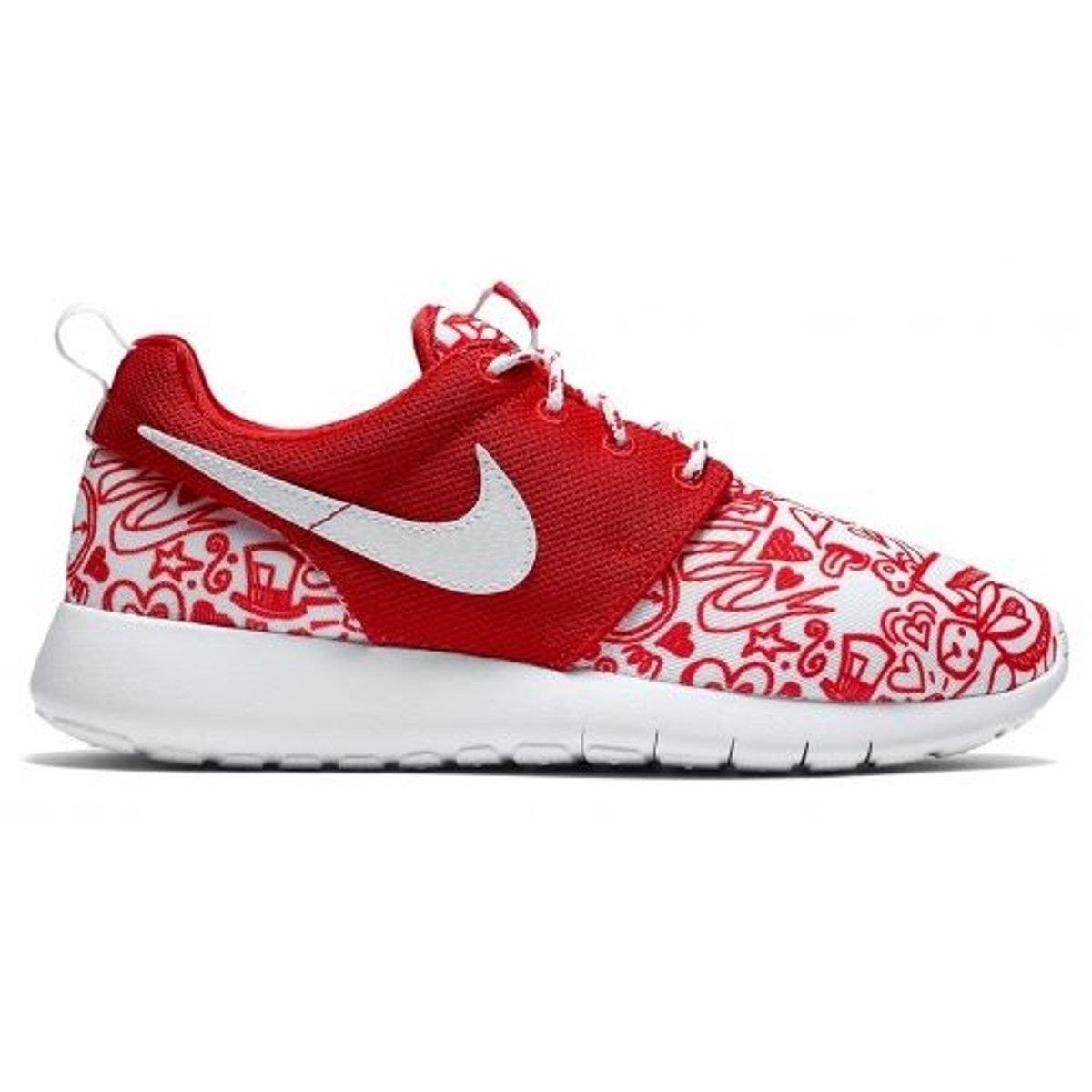 popular stores brand new big discount Roshe One Print (gs) Rouge - - Taille : 38 1/2   Nike roshe ...