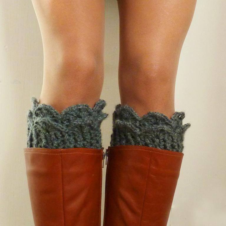 Patterns For Knit Leg Warmers Boot Cuff Cowl Neckwarmer Make Me