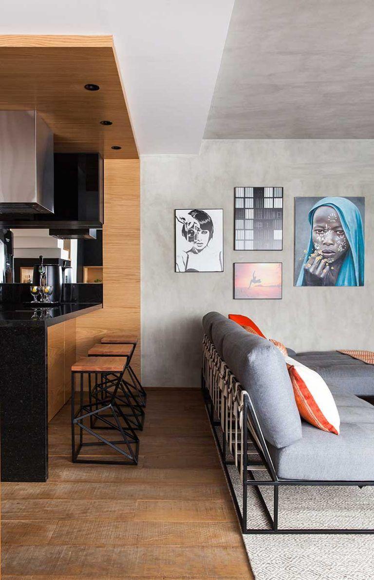 Um ap sem barreiras en 2019 decooo interiores de casa for Acabados apartamentos pequenos