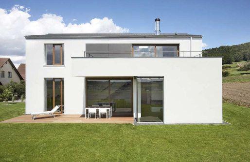 Wohnhaus habermann wohnhaus habermann dream home for Haus mit satteldach modern
