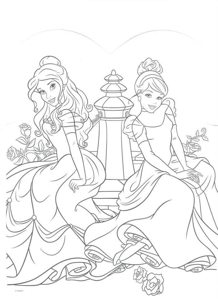 Pin de My Info en Coloring Pages | Pinterest | Princesas, Dibujos en ...