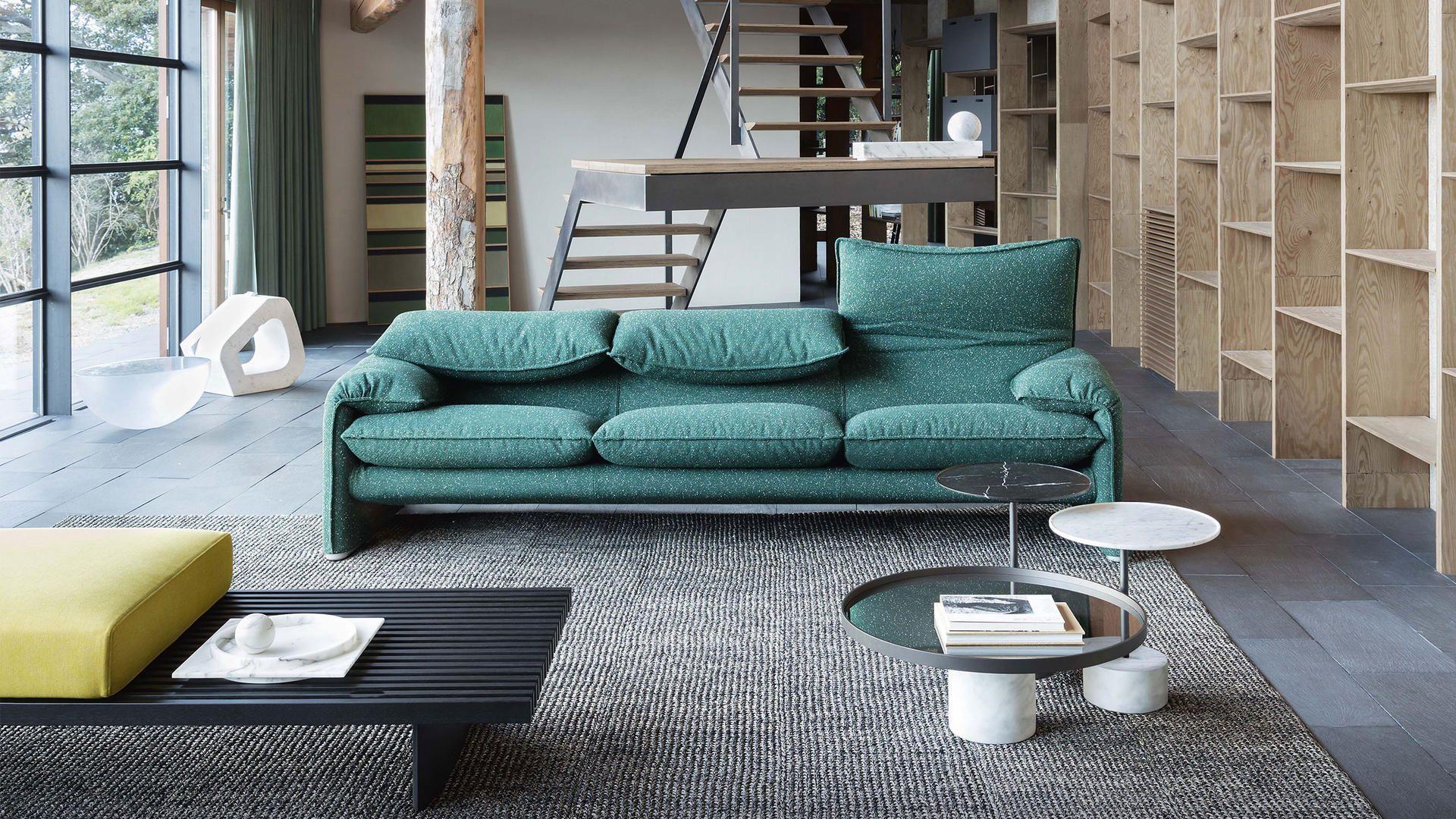 Divano maralunga by cassina da gallianohabitat indoor design sofa furniture furniture - Divano maralunga cassina ...