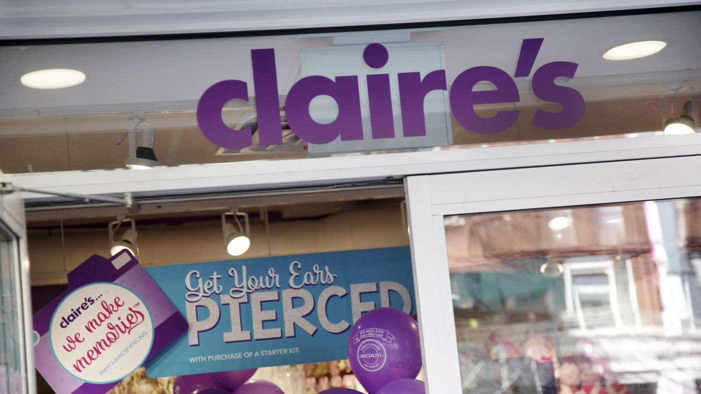 FDA Says It Found Asbestos In Makeup At Claire's