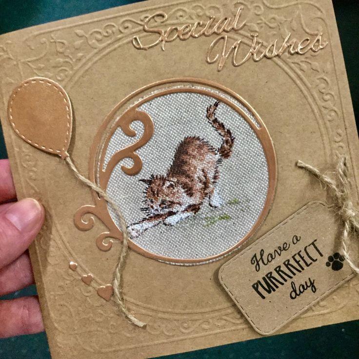 Ginger Kitten Card #gingerkitten