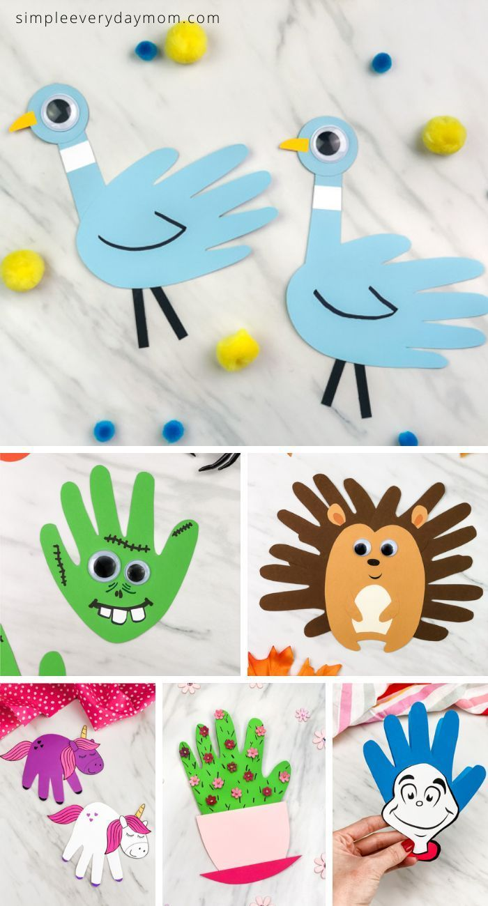 , Handprint Art & Crafts For Kids, MySummer Combin Blog, MySummer Combin Blog