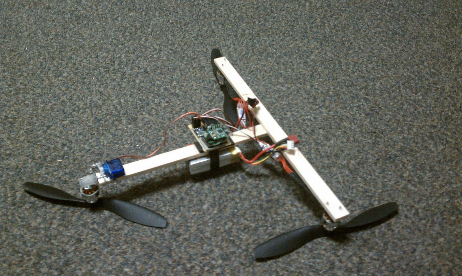 make everything: carbon fiber tricopter frame | something for my ...