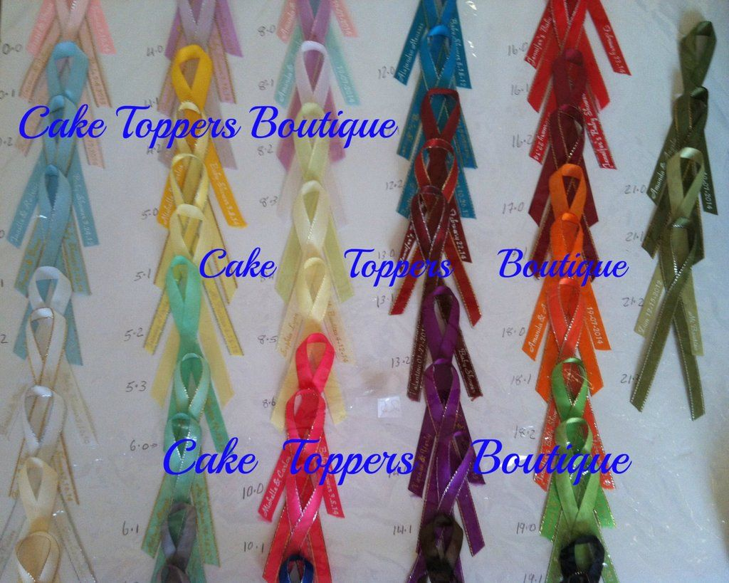 wedding printed ribbon personalized ribbons quinceañera
