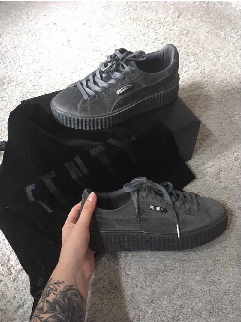Fenty Lachristshia Greygrau instagram Shoes Puma In Foto Bffgx