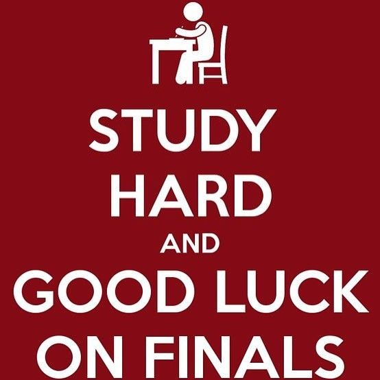 Good Luck Everyone >> Good Luck Everyone Come By The Library And Get Your Study Sessions