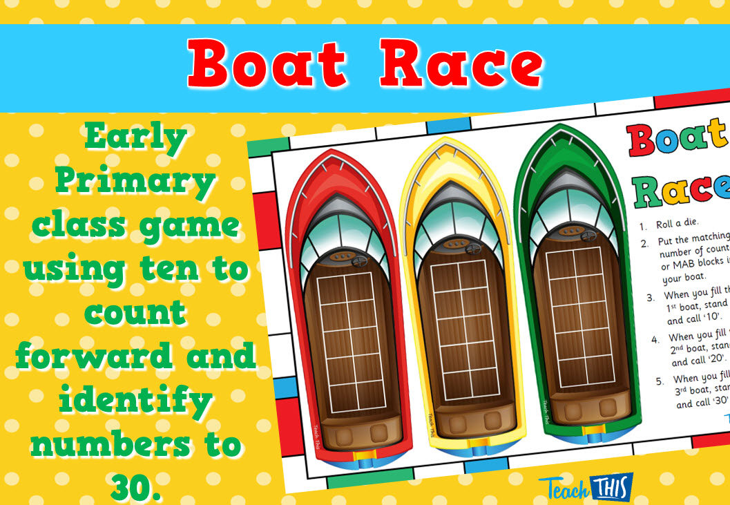 Boat Race to 30