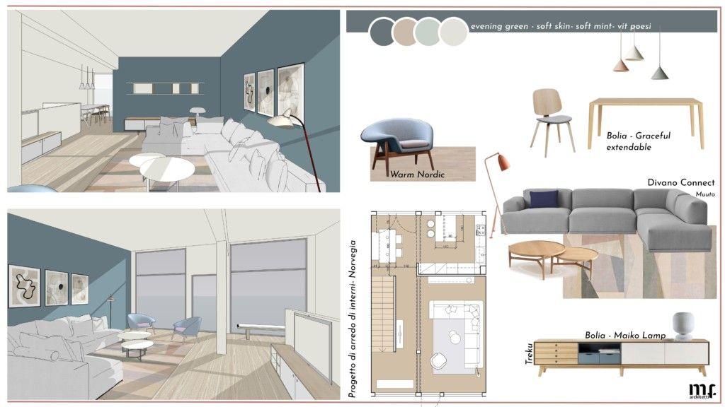 Analisi dello stato di fatto del vostro spazio abitativo o ristrutturazione. Progetto Di Arredo Di Interni Interior Design Presentation Design Interior Design