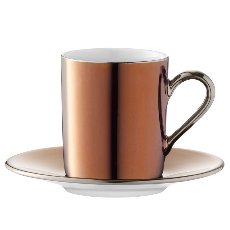 These delightful Remi hand painted copper coffee cups from LSA will ...
