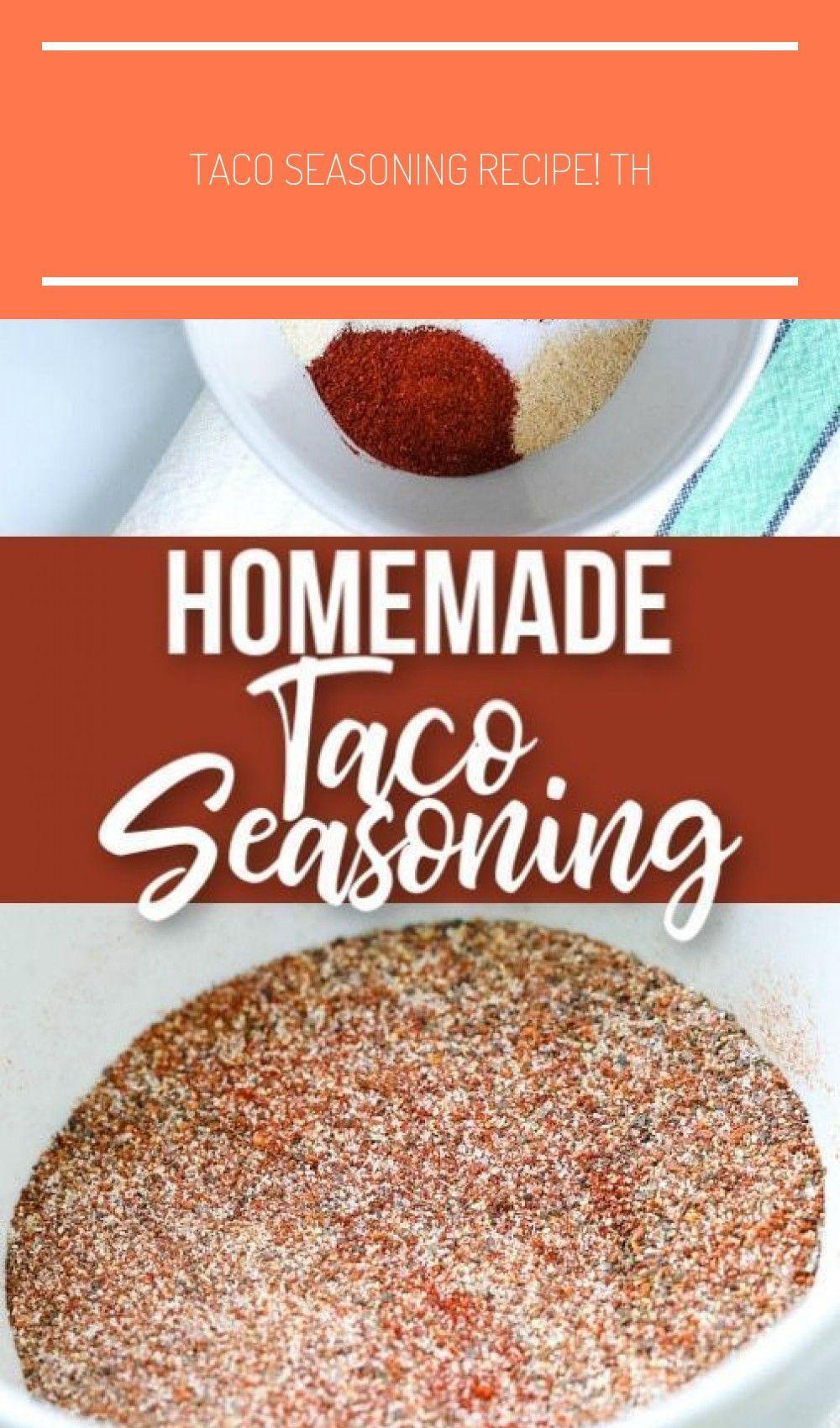 Taco Seasoning Recipe! Th #tacoseasoningpacket Taco Seasoning Recipe! This homemade taco seasoning recipe is quick, easy and af... -  #Easy ... #tacoseasoningpacket Taco Seasoning Recipe! This homemade taco seasoning recipe is quick, easy and af... #chicken taco seasoning packet #diytacoseasoning