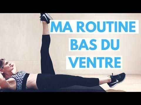 Perdre du bas du ventre (15 min) // Objectif Ventre Plat! - YouTube - #exercise #fitness #fitnesspla...