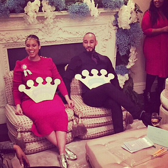Alicia Keys And Swizz Beats Celebrate With A Beautiful Baby Shower
