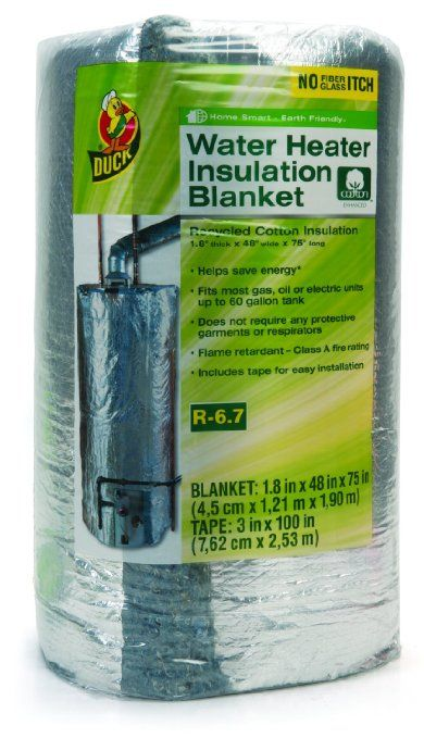 Amazon Com Duck Brand 280464 Water Heater Insulation Blanket 48 By 75 By 1 8 Inch Home Improvement With Images Blanket Insulation Water Heater Blanket Water Heater