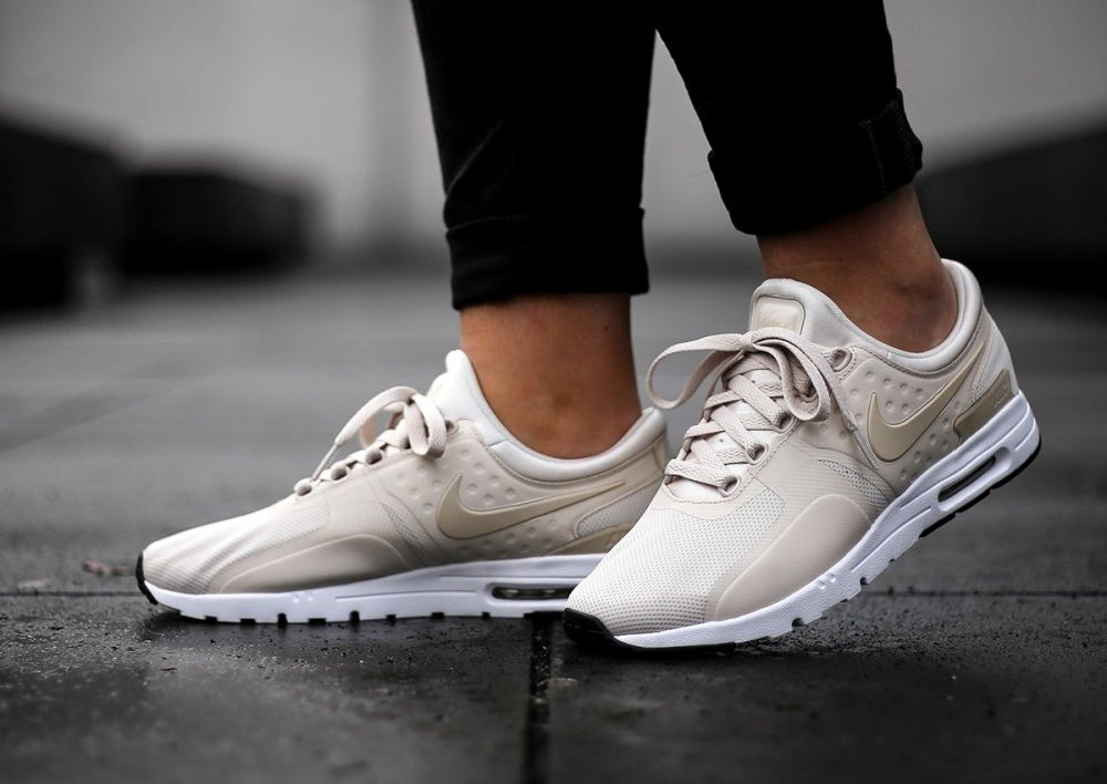 huge discount f7cce 7a393 Nike Air Max Zero Beige Oatmeal Orewood Brown (femme)