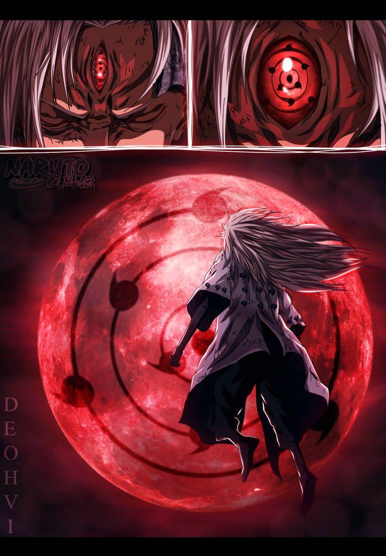 Naruto 676 Mugen Tsukuyomi by DEOHVI Naruto shippuden