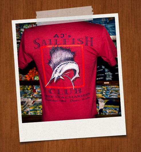 Sailfish Back Brick Red