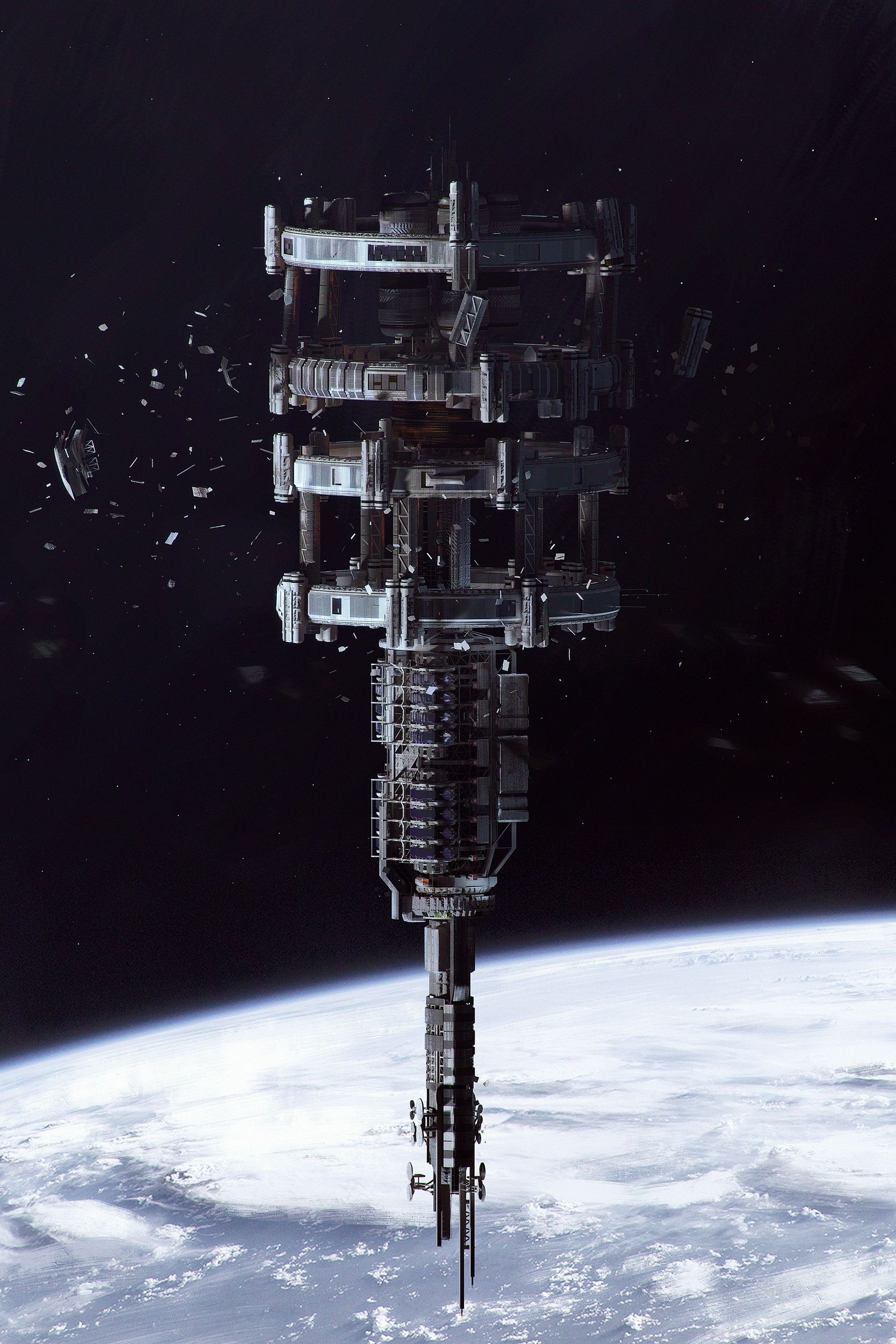 Pin By Stephen Millender On Sci Fi Reference Space Station Spaceship Art Starship Concept