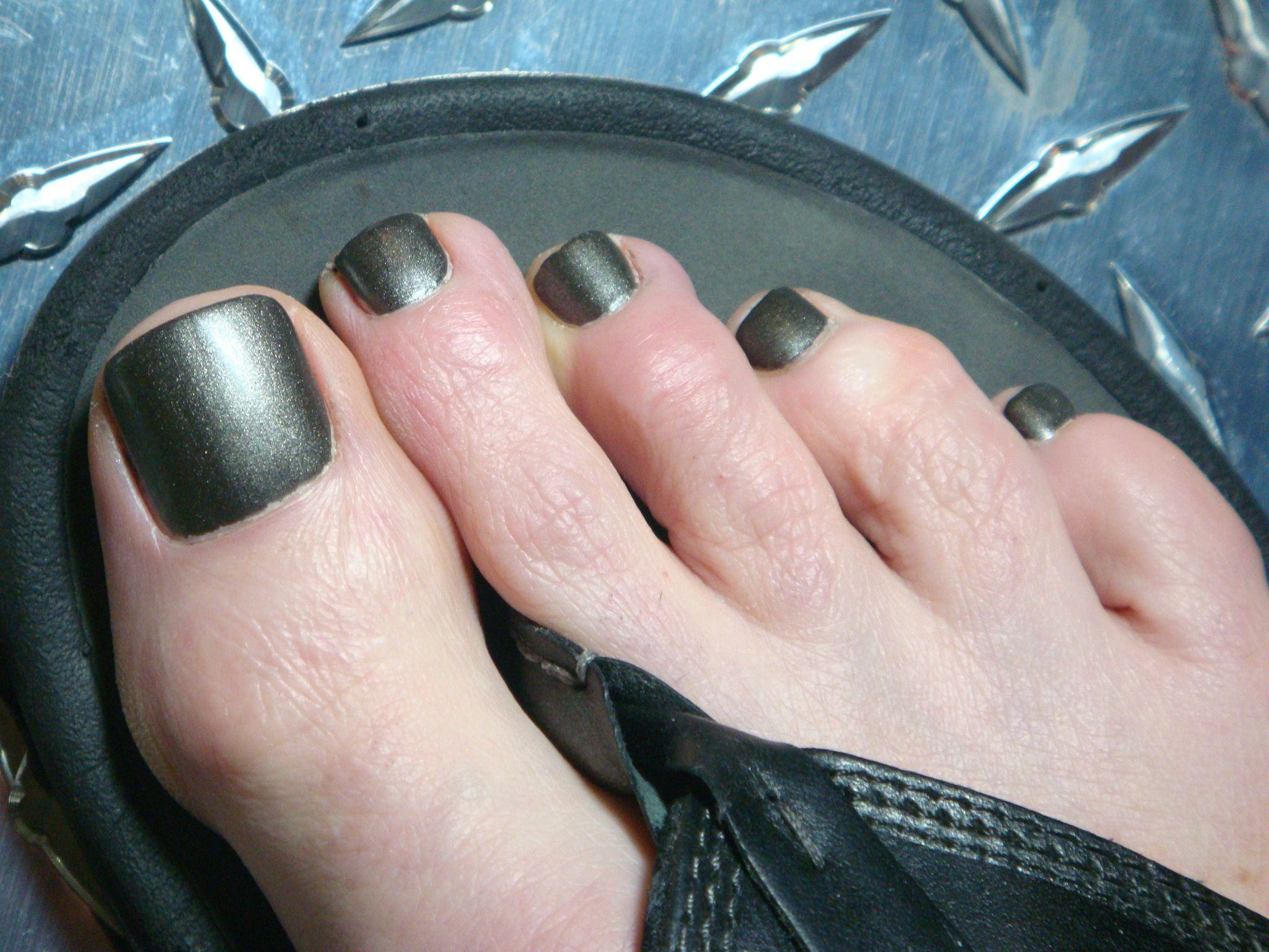 Bb Couture For Men Full Metal Jacket In 2019 Men Nail Polish Black Toe Nails Nail Colors