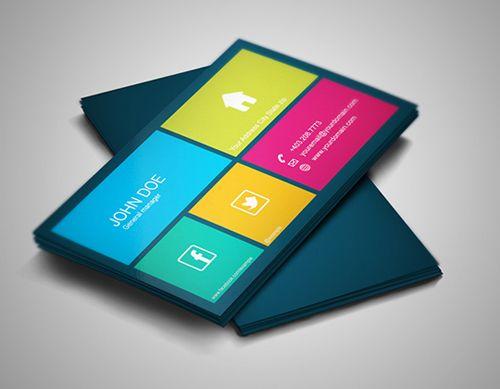 Modern Design Business Cards (25 Templates) - 19 | Graphic Design ...