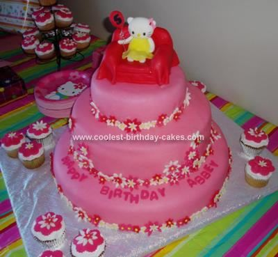 Coolest Hello Kitty Cake Wire Cakes and Homemade