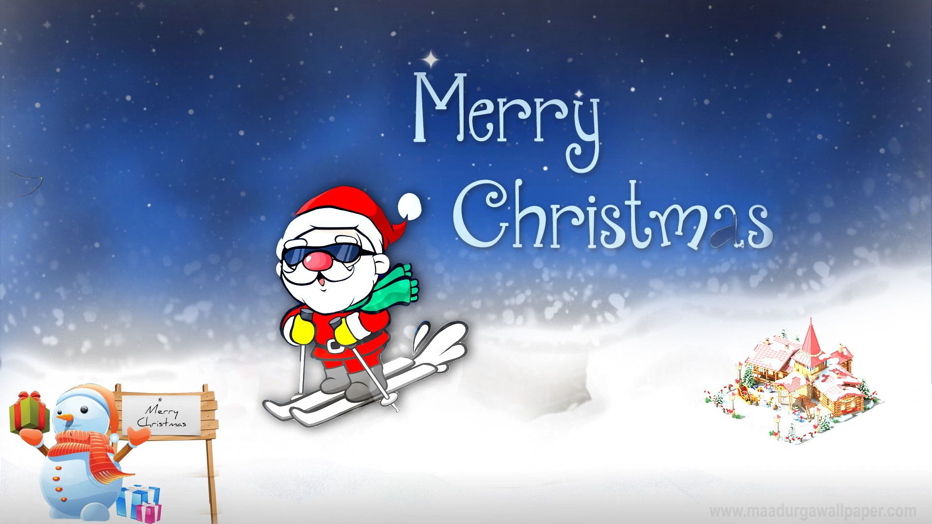 Merry Christmas HD Wallpaper, Beautiful Pictures & Hd