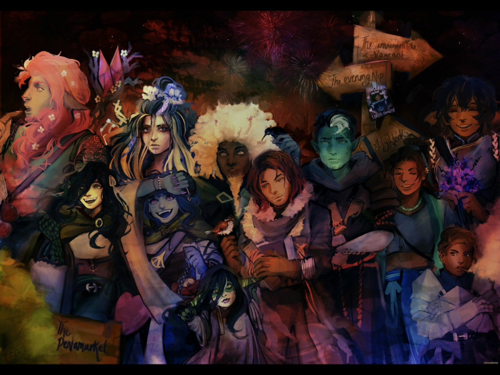 Fan Art Gallery New Horizons Critical Role In 2020 Critical Role Critical Role Fan Art Critical Role Campaign 2