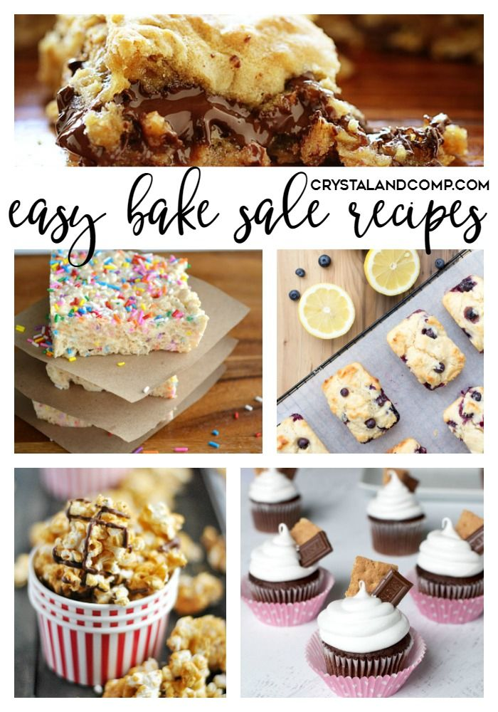 25 Recipes That Will Rock Your Next Bake Sale Bake sale